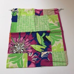 Lilly Pulitzer Shoe Dust Bag